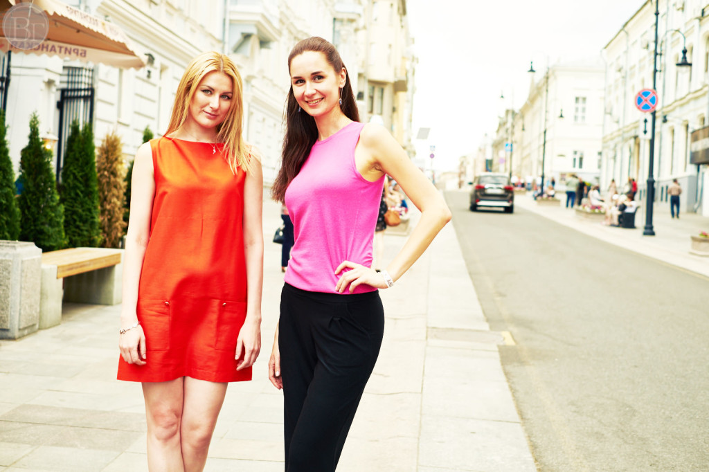 Show New Russian-Vika Green stylist