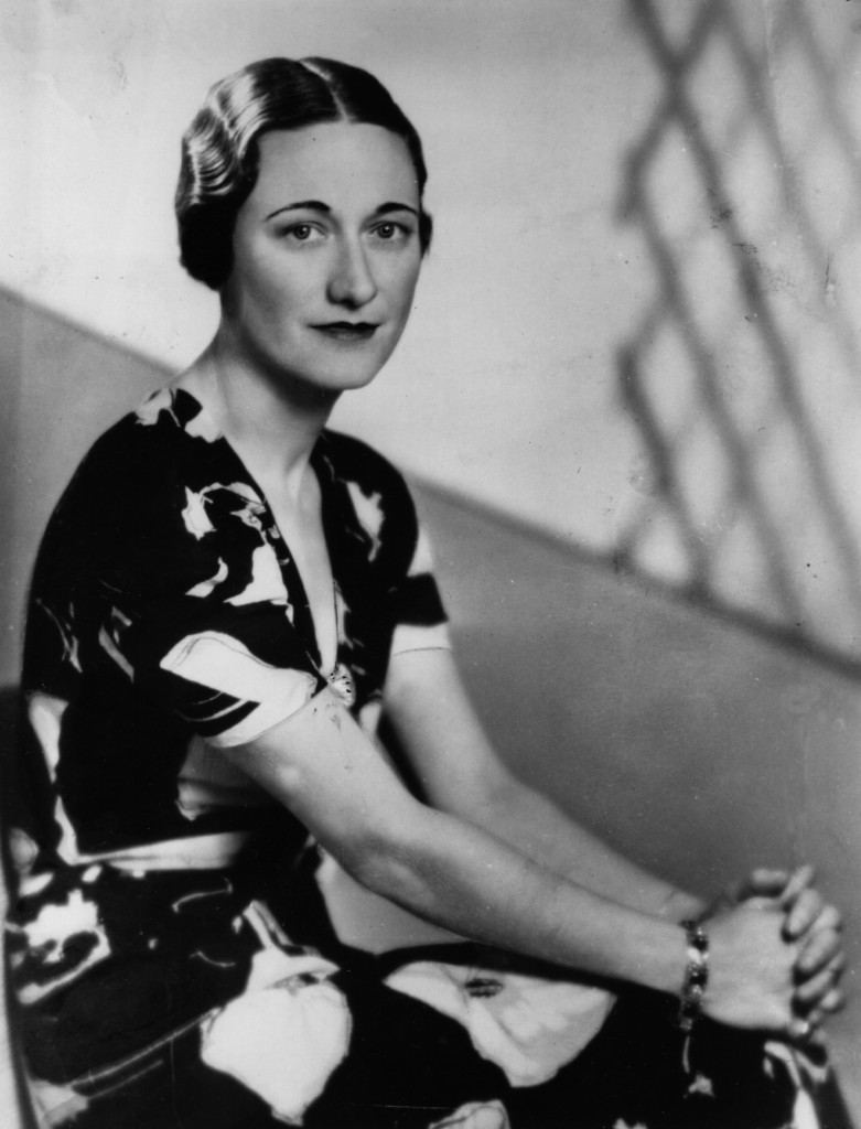 American socialite  Wallis Simpson (nee Bessie Wallis Warfield)  (1896 - 1986) a week before King Edward VIII abdicated.  She became Duchess of Windsor in June 1937 after her marriage to Edward VIII, Duke of Windsor.   (Photo by Fayer/Getty Images)