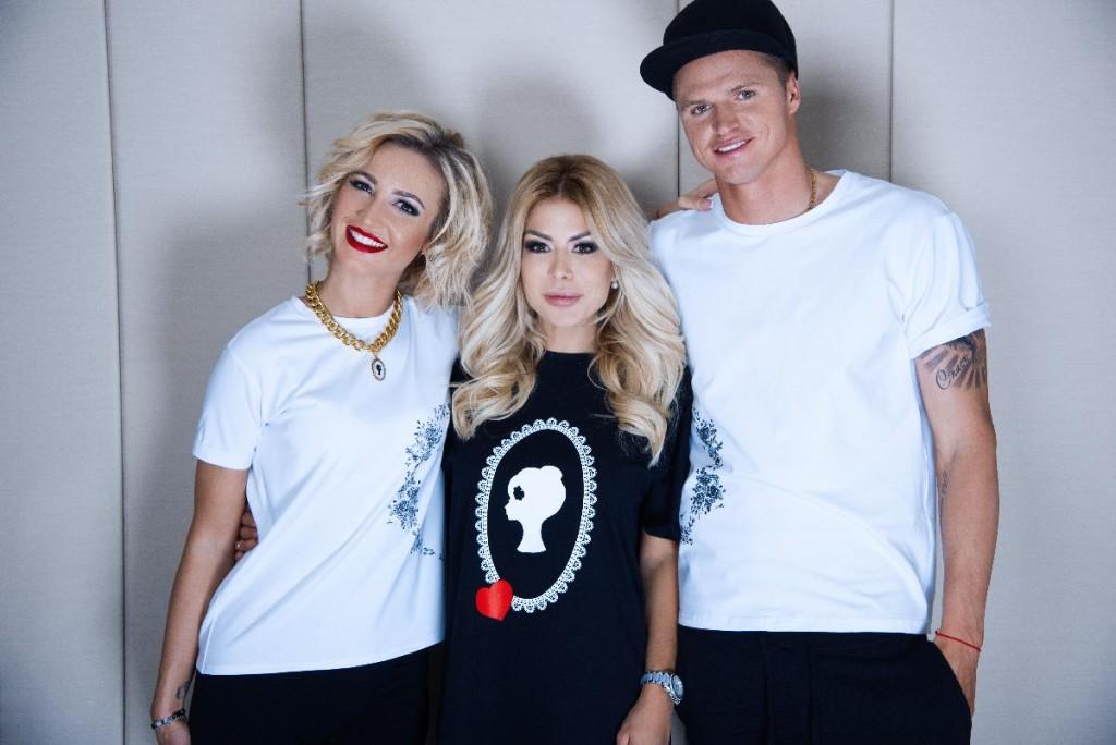 Olga Buzova and Dmitriy Tarasov for BELLA POTEMKINA (2)