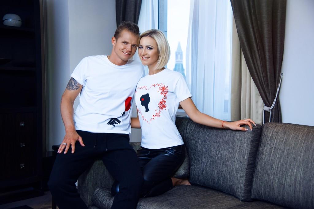 Olga Buzova and Dmitriy Tarasov for BELLA POTEMKINA (4)