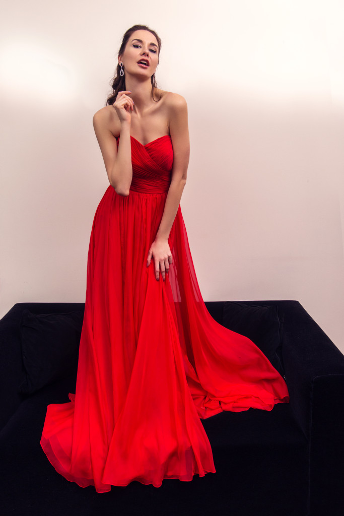Vika Green by Zhanna Mayorova for I LIKE DRESS