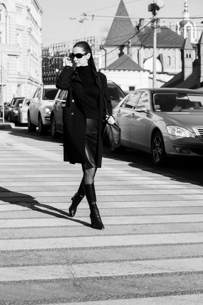 Vika Green by Zhanna Mayorova-Fashion weak-Street style