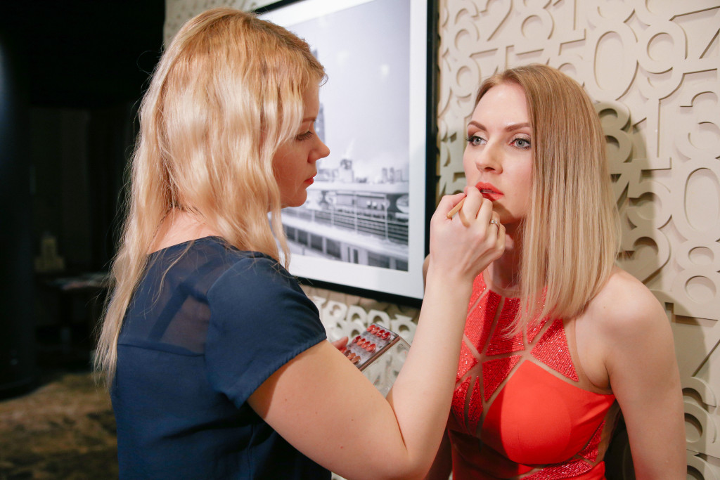 Backstage STRELKI by Zhanna Mayorova for www.vikagreen.ru