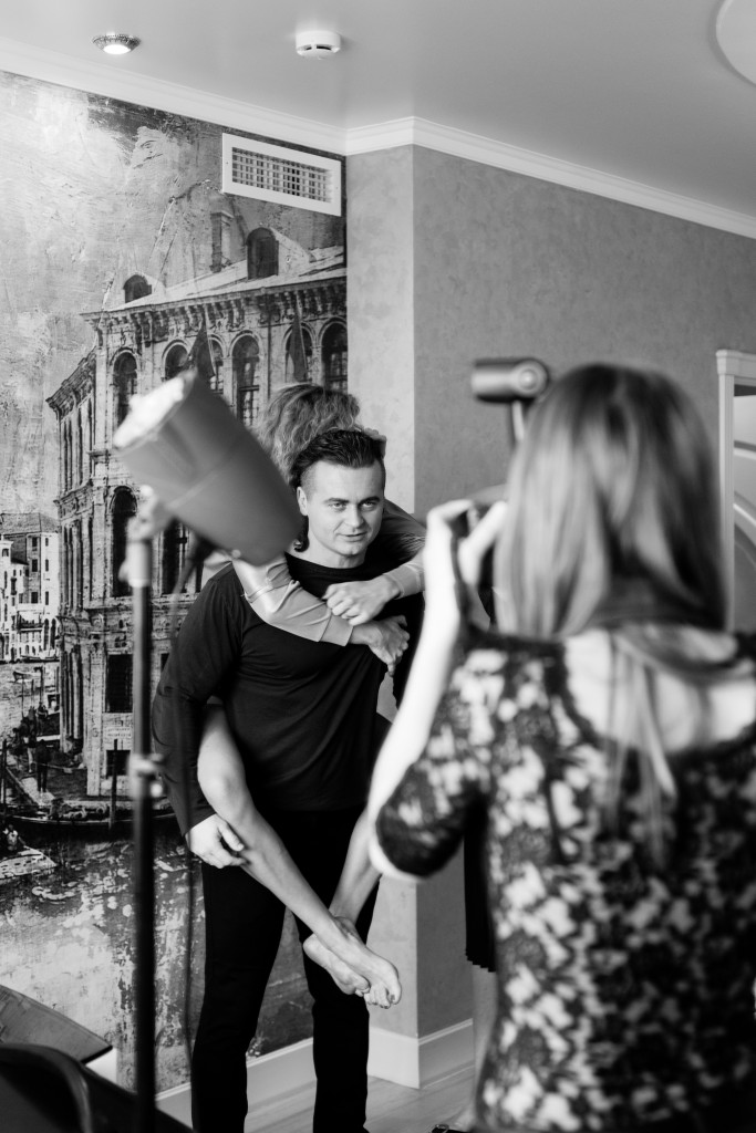 Backstage with Denis Borisov for www.vikagreen.ru