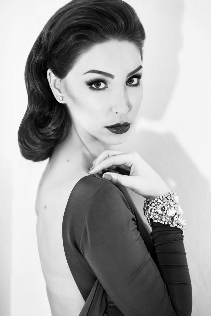 Uliya Chiplieva by Ekaterina Malinovskaya for vikagreen.ru in NS Fashion dress