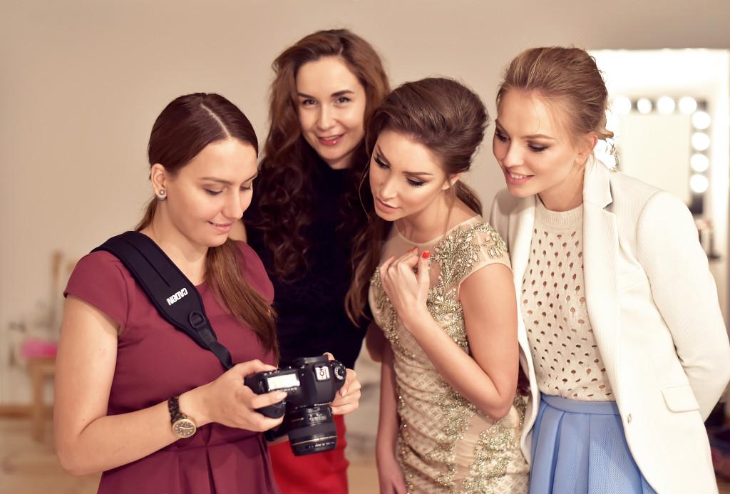 Uliya Chiplieva for Vika Green-backstage-