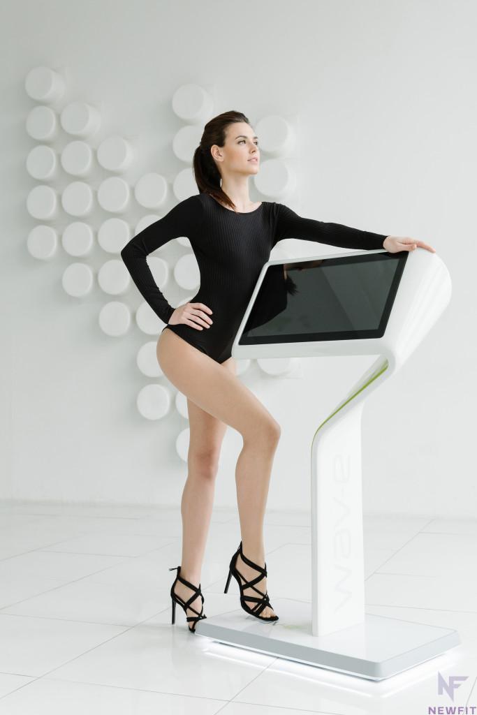 Irina Antonenko for New Fit - Vika Green stylist