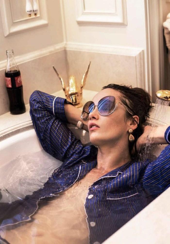 Karmen Pedaru For Elle France January 2017 (9)