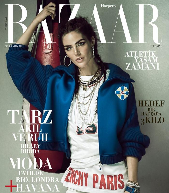 Hilary Rhoda For Harpers Bazaar Turkey January 2017 (2)