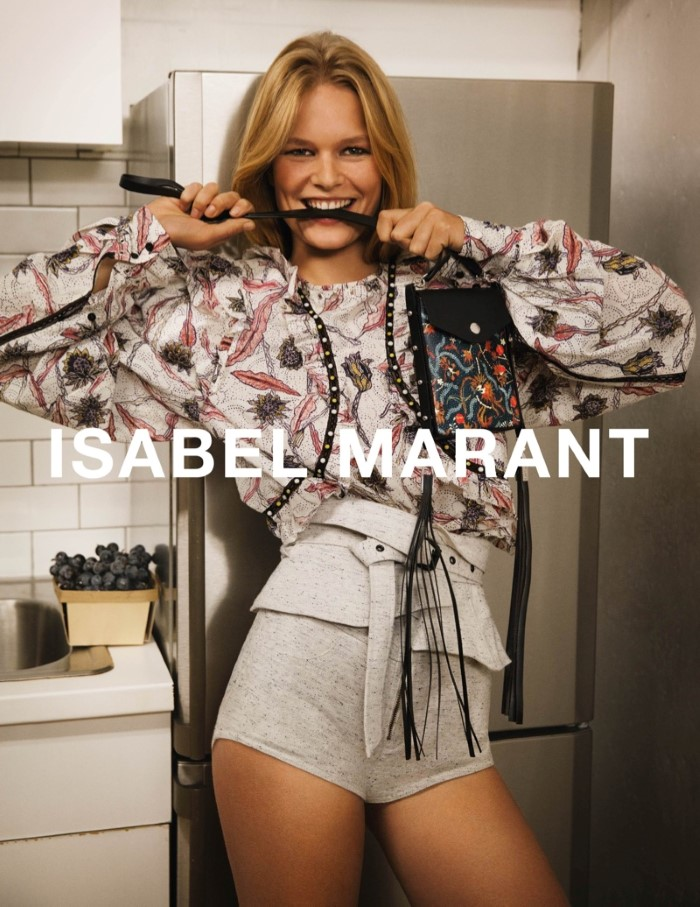 Anna Ewers for Isabel Marant SS 2017 Ad C (1)