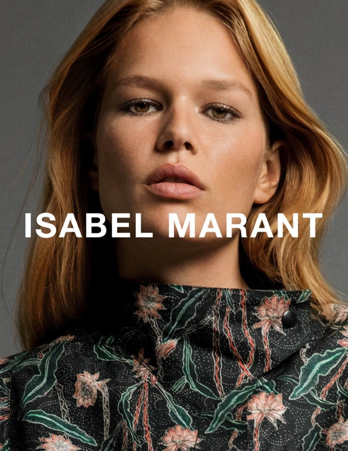 Anna Ewers for Isabel Marant SS 2017 Ad C (3)