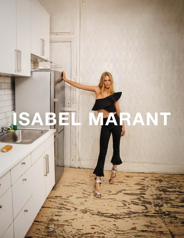 Anna Ewers for Isabel Marant SS 2017 Ad C (4)