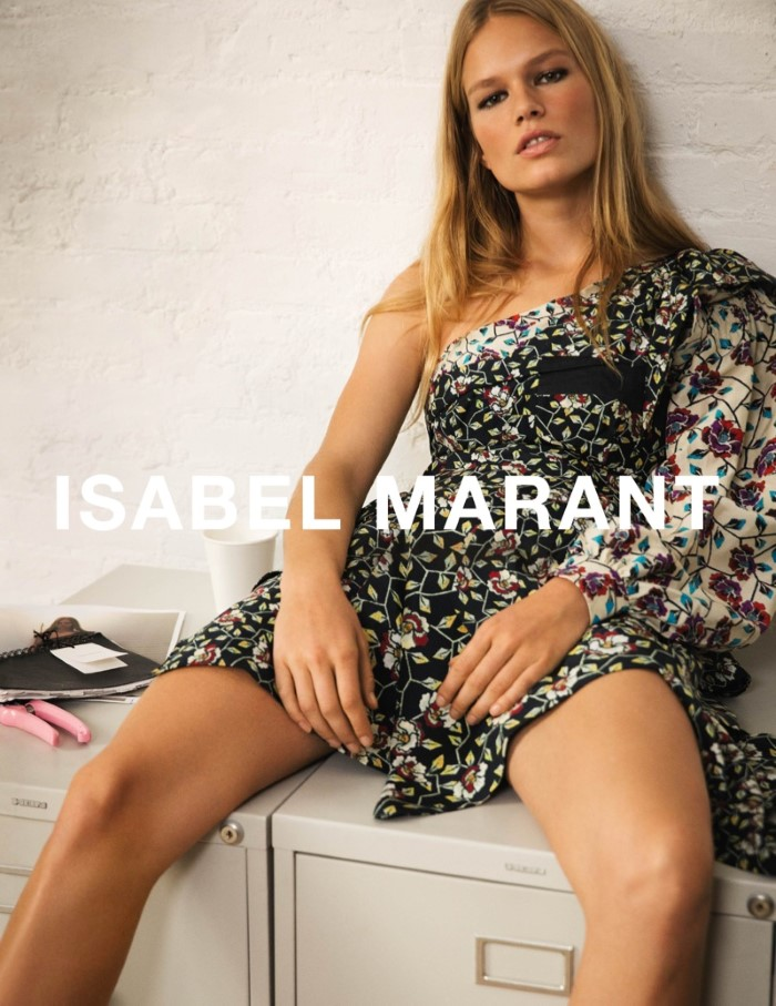 Anna Ewers for Isabel Marant SS 2017 Ad C (5)