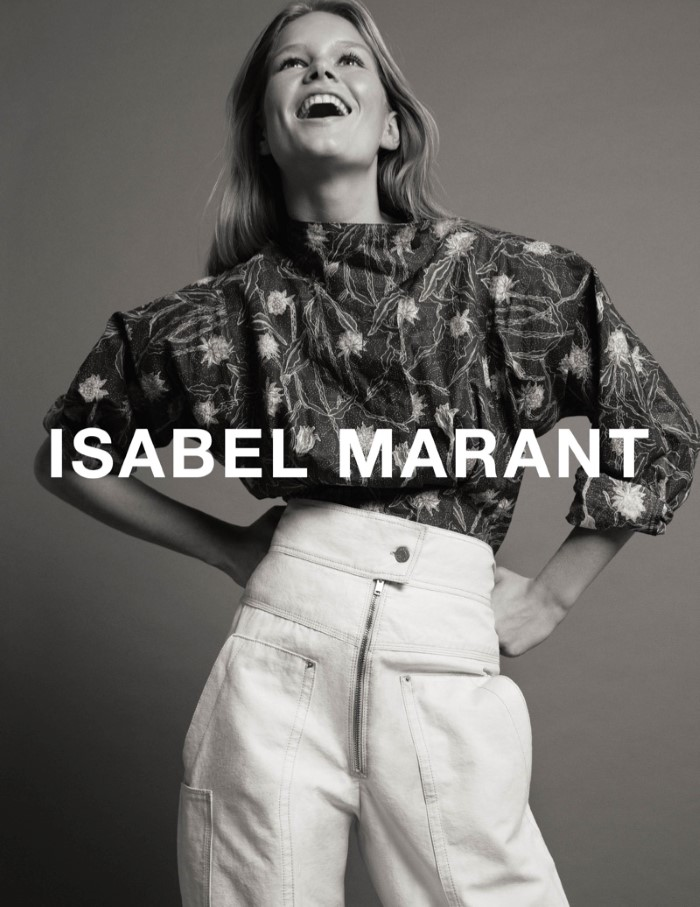 Anna Ewers for Isabel Marant SS 2017 Ad C (7)
