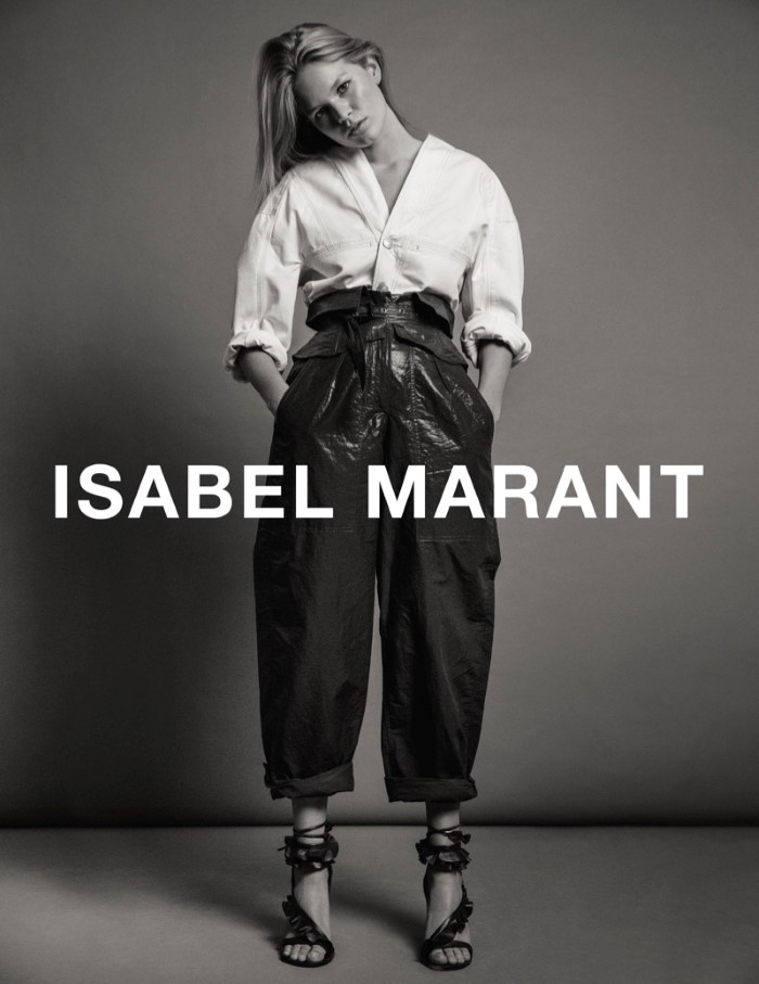 Anna Ewers for Isabel Marant SS 2017 Ad C (8)