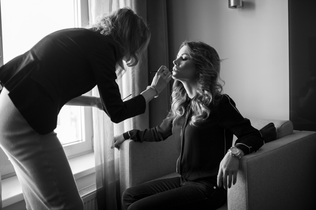 Backstage Kseniya Lugovaya by Marina Frolova for vikagreen.ru-Mamaison Hotel