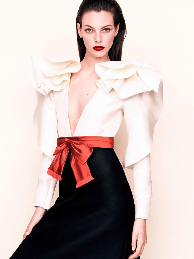 Vittoria Ceretti For Vogue Japan April 2017 (3)