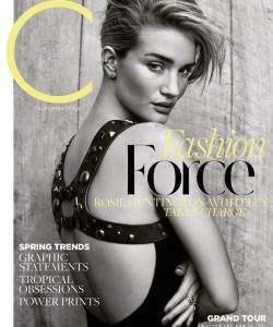 Роузи Хантингтон-Уайтли для C Magazine