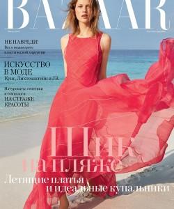 Лаура Джули для Harper`s Bazaar Россия, июнь 2017