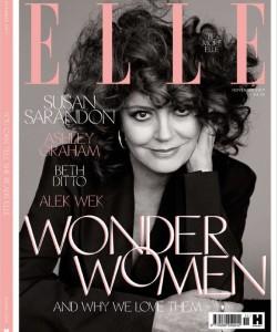 Сьюзан Сарандон для Elle UK, ноябрь 2017