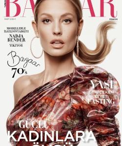 Надя Бендер для Harper`s Bazaar Турция, март 2018