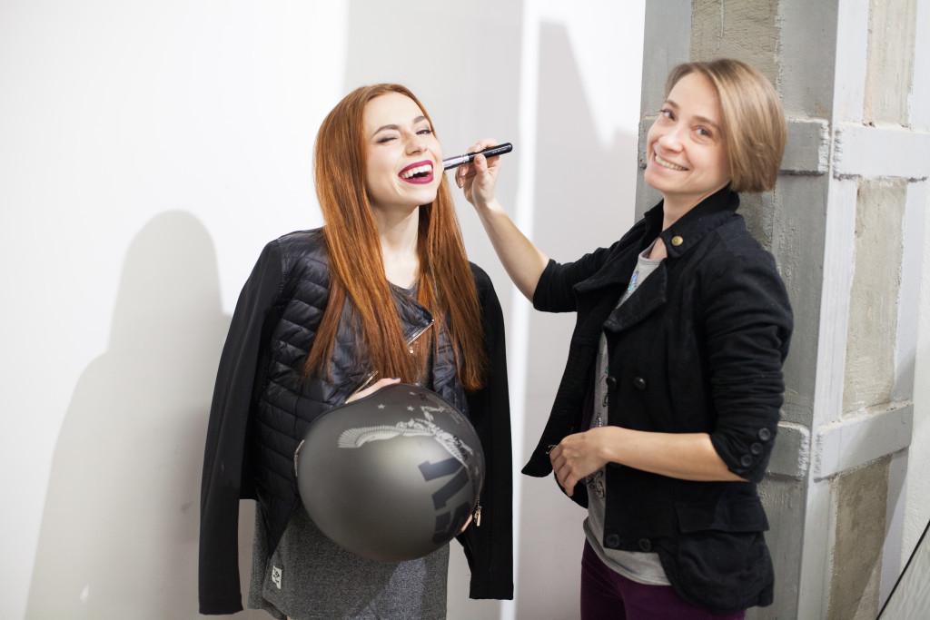 Backstage - Diana Di by Marina Frolova for vikagreen.ru