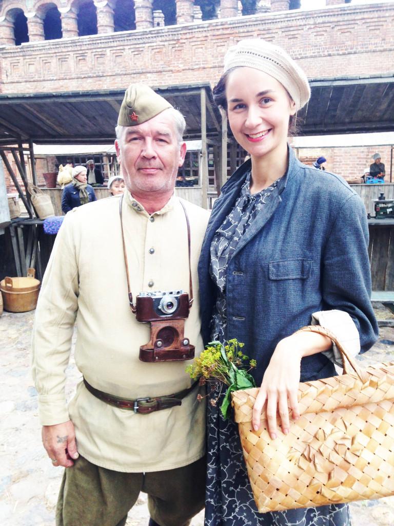 Vika Green and dad 2014