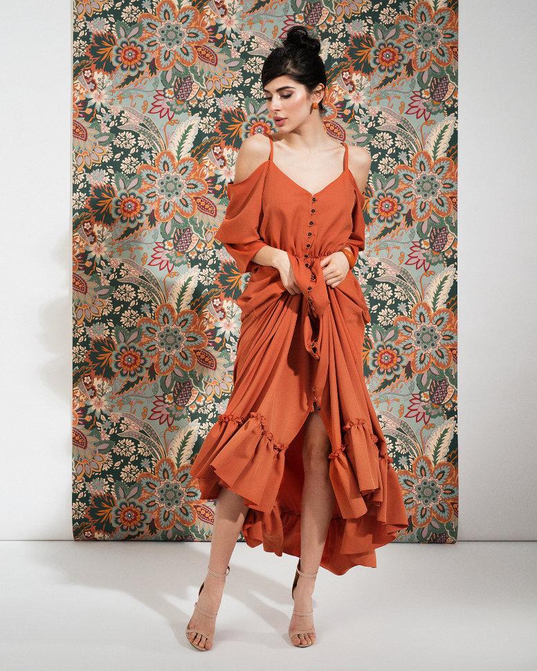 Terracot dress (3)