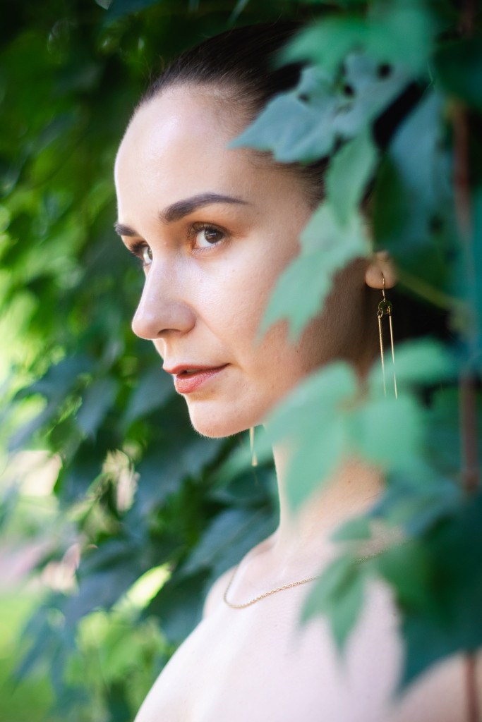Vika Green by Sergey Zhinko