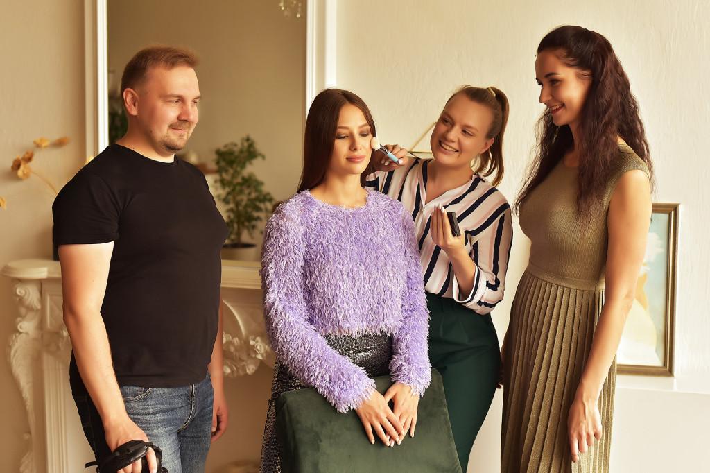 Backstage_Julia Golygina by Sergey Bogomolenkov and Vika Green
