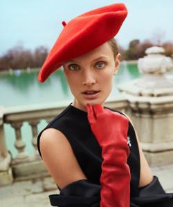 Длинные перчатки: еще один модный способ согреться