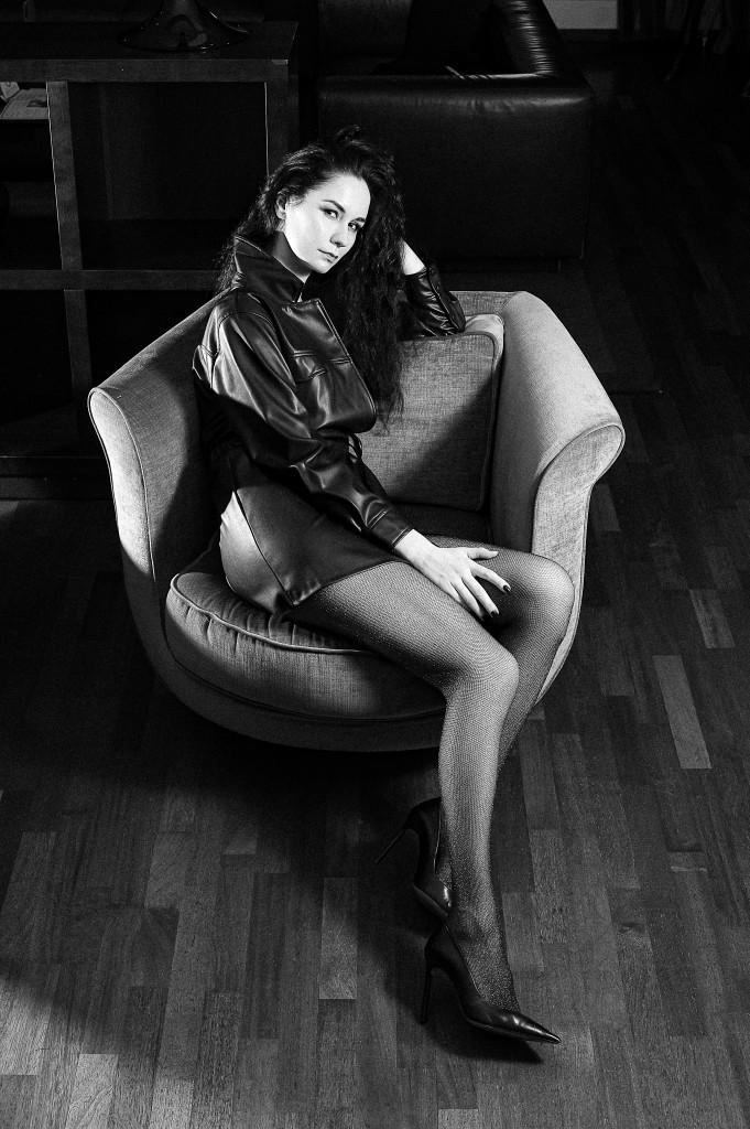 Vika Green by Maxim Galyanov in Mamaison Hotel